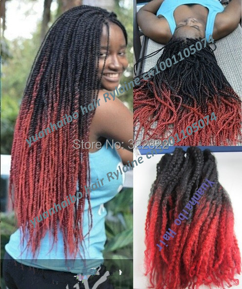 Stock Price 20 Folded Black Red Two Tone Synthetic Marley