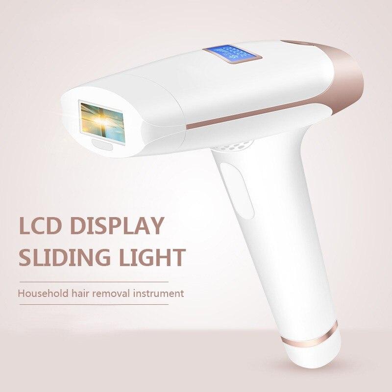 2 en 1 IPL épilateur épilation LCD affichage T009i Laser Permanent Bikini tondeuse électrique épilateur Laser cheveux garniture