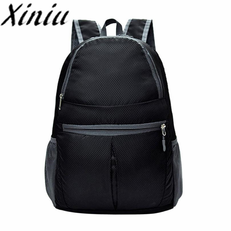 Xiniu unisex backpacks nylon waterproof Neutral rucksack women 2018 folded bagpacks for men backpack bag travel backpacks #LS ...
