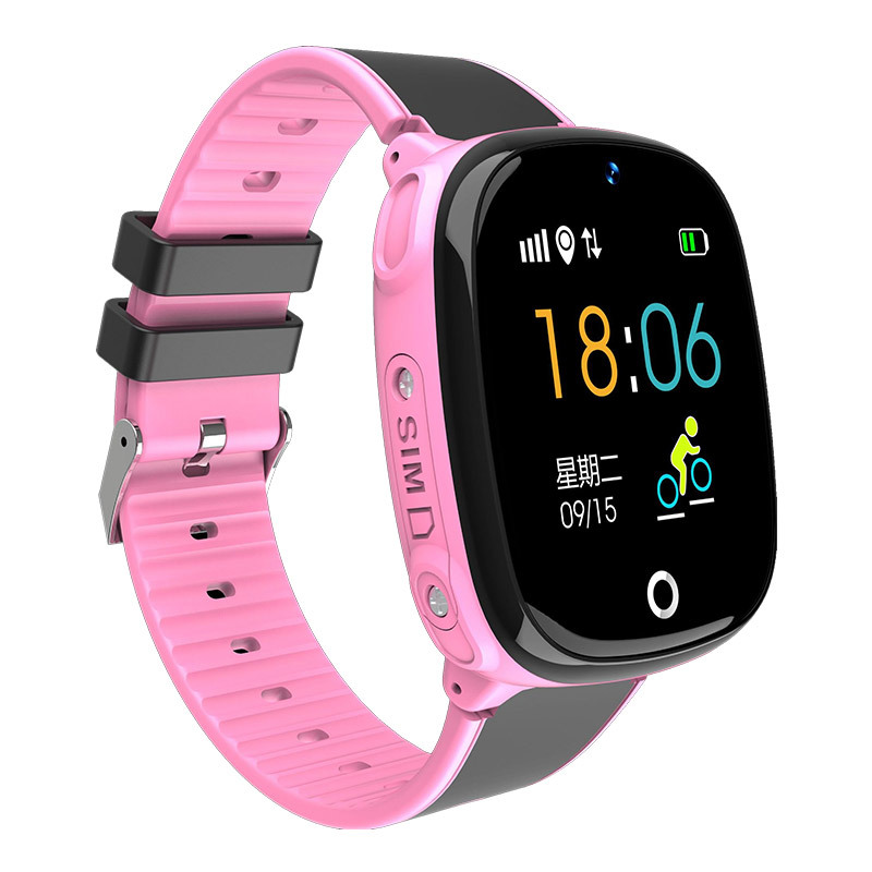 Kids Smart Watch with GPS Tracker Wearable Children\`s Connected Wrist Bracelet Sim Card Call Function Turkish Girl Digital-watch (5)