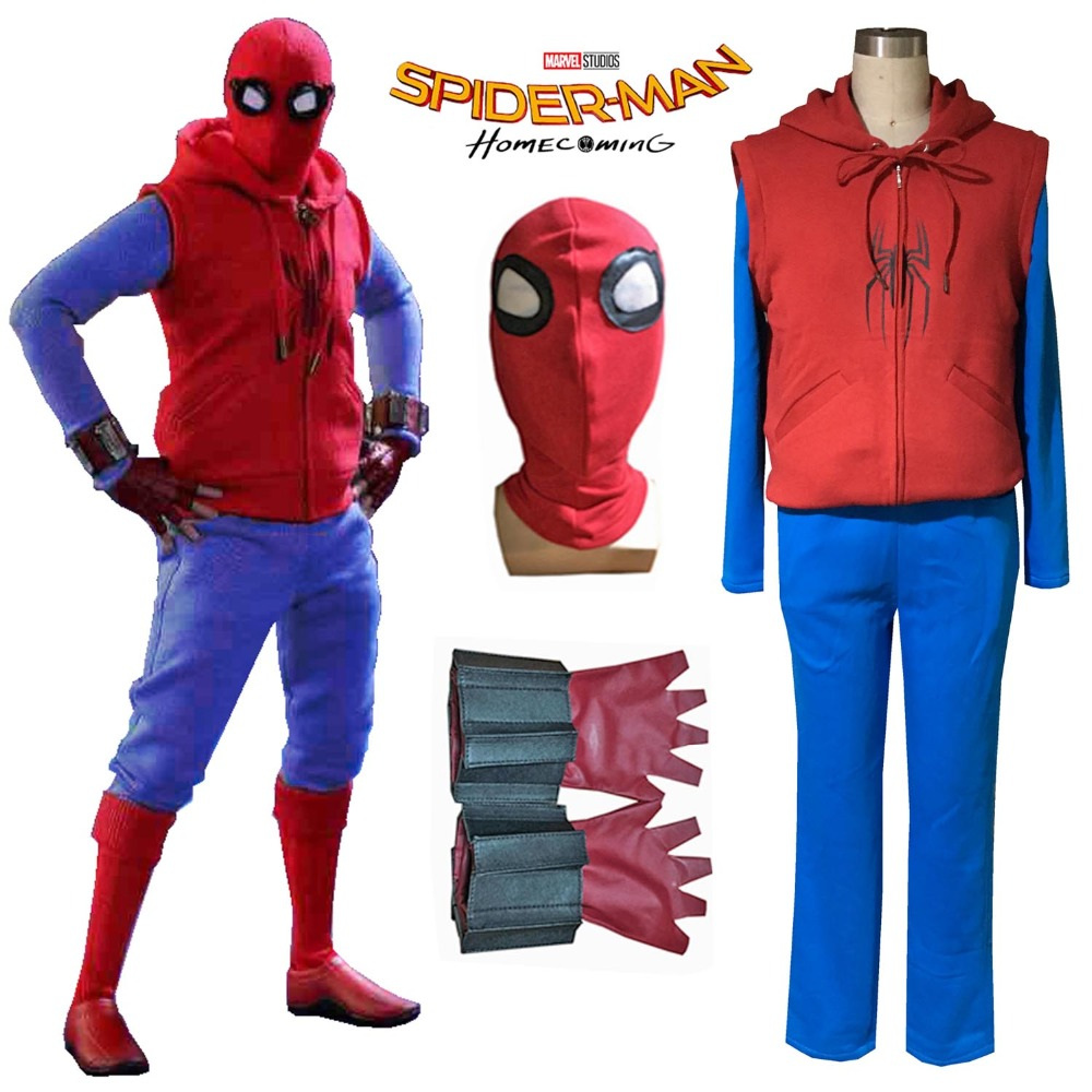 Online Get Cheap Spiderman Outfit Men -Aliexpress.com | Alibaba Group