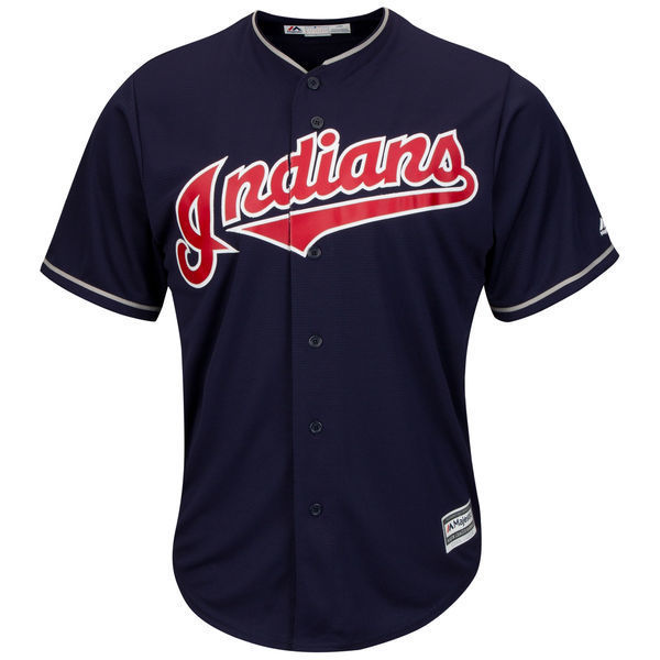 MLB Youth Cleveland Indians Francisco Lindor Baseball Home White 2015 Official Cool Base Player Jersey