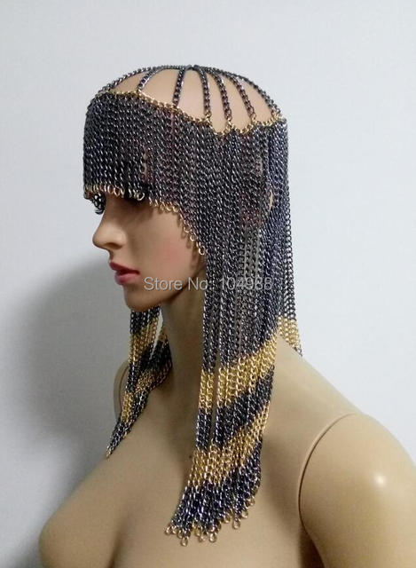 New Arrival B743 Women Sexy Gray&Gold colour Head Chains Jewelry Unique Design Layers Bohemia Hair Head Accessories Jewelry