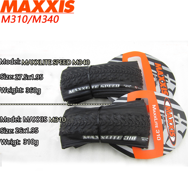 MAXXIS Bicycle Tires 27.5*1.95 Ultralight 360g 170TPI Anti Puncture MTB Tyres 27.5 Mountain Bike Folding Tyre