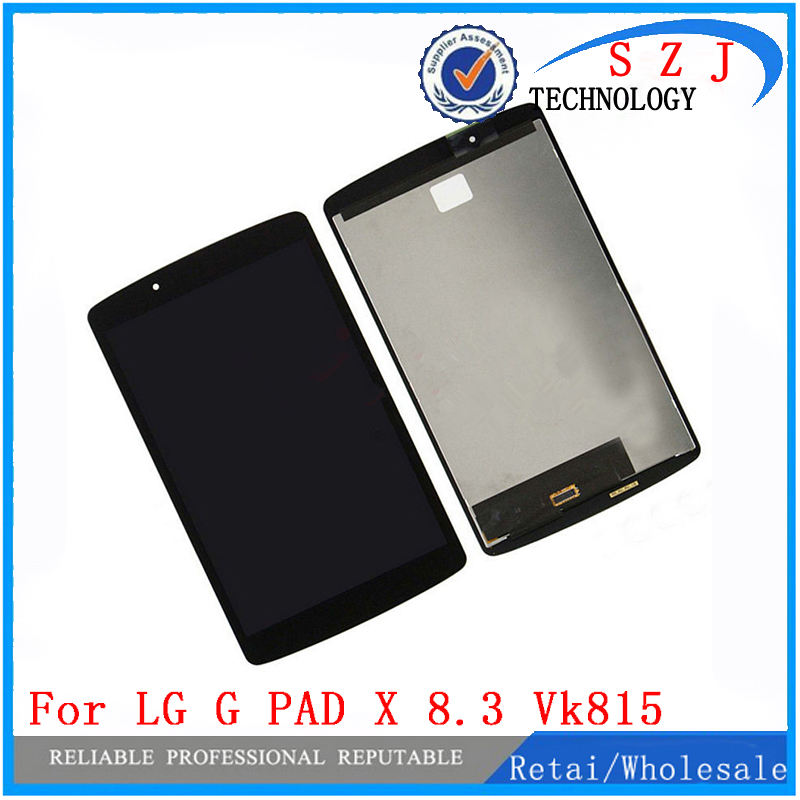 New 8.3 inch  For LG G PAD X 8.3 VK815 VK-815 LCD Display Panel+Touch Digitizer Glass Screen Assembly Parts Free Shipping new 10 1 inch parts for asus tf701 tf701t lcd display touch screen digitizer panel full assembly free shipping
