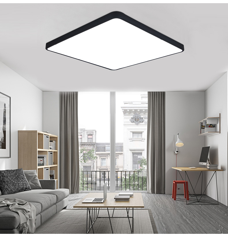 DX ultra-thin square LED ceiling lighting ceiling lamps for the living room chandeliers Ceiling for the hall modern ceiling lamp