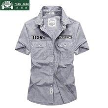 2018 Brand Summer Shirt Men Short Sleeve Turn-down Collar Camisa mascu