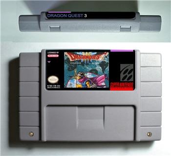 где купить Dragon Quest III 3 - RPG Game card Battery Save US Version дешево
