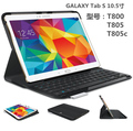Wireless Bluetooth Keyboard Case for Samsung Galaxy Tab S 10.5 T800  T805 T805C T805S tablet PC for  Galaxy T805C T805S Keyboard