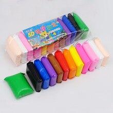 12 цветов, светильник для сухого воздуха, глина с 3 инструментами, обучающая игрушка, цветной пластилин, полимер, креативная глина для самостоятельного изготовления, игрушка для детей, девочек, подарок на день рождения