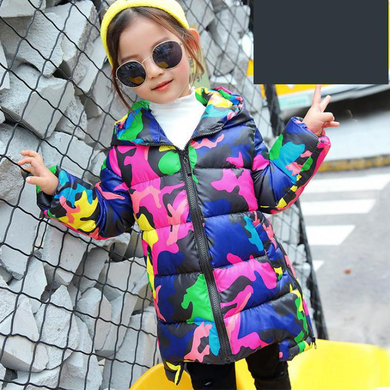Children Outerwear Boy And Girl Autumn Warm Down Hooded Coat Teenage Parka Kids Winter Outfits Camouflage Print Coats 10 12 Year children jacket outerwear boy and girl autumn warm down hooded coat teenage parka kids winter jacket size2 4 6 9 10 11 years