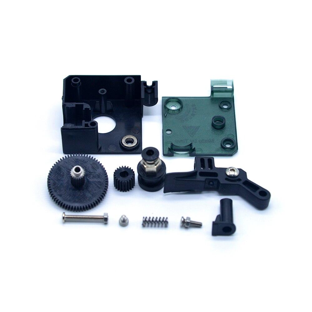 Extrusor TEVO Titan Kit completo con Motor paso a paso NEMA 17 para impresora 3D scompatible con unidad directa y soporte de montaje Bowden