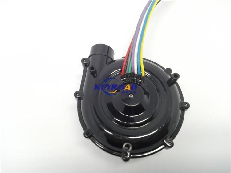 Купить Высокое Давление и Низкий Уровень Шума 67 Вт мини 24 В DC Бесщеточный Вентилятор/Электрический воздушный вентилятор малый центробежный вентилятор дешево