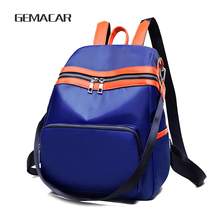 Fashion Simple Women Bag Autumn And Winter Popular Ladies Backpack Classic Design  Oxford Cloth Multi-functional Leisure Backpac