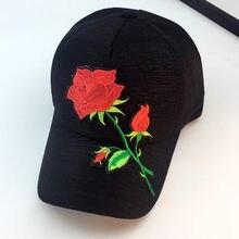 Floral gorra de béisbol de adulto Unisex Snapback Hip Hop sombrero plano  Casual Unisex ajustable bordado ea078033675