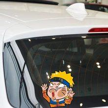 Naruto Hits The window Funny Car Sticker