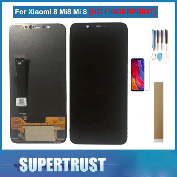 6.21 Inch For Xiaomi 8 Mi8 Mi 8 LCD Display Touch Screen Glass Sensor Digitizer Assembly Black Color With Kit6.21 Inch For Xiaomi 8 Mi8 Mi 8 LCD Display Touch Screen Glass Sensor Digitizer Assembly Black Color With Kit