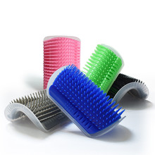 Self-Grooming Scratcher for Cats & Dogs