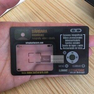 Image 1 - תפור לפי מידה PVC פלסטיק ברור/כפור PVC שקוף כרטיס ביקור הדפסה עם משלוח חינם