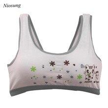 New Lovely Bra Girls Underwear Cotton Bra Vest Children Underclothes Sport Undies Bustier Crop Top wholesale v