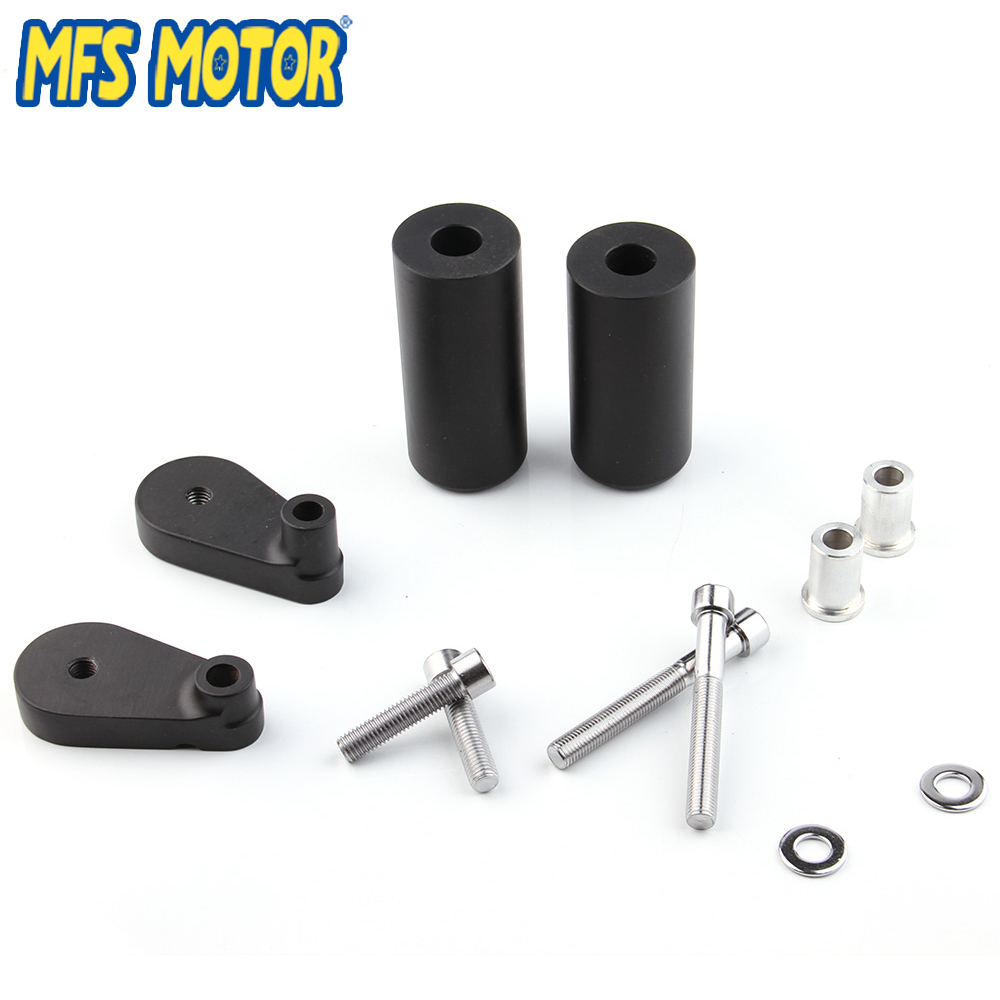 Motorcycle Parts No Cut Frame Slider Crash Protector for Yamaha YZF R1 YZF-R1 2007 2008 Black