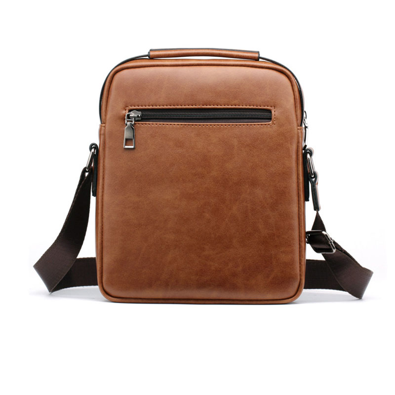 Men bag 2019 new fashion england style crossbody leather messenger bag