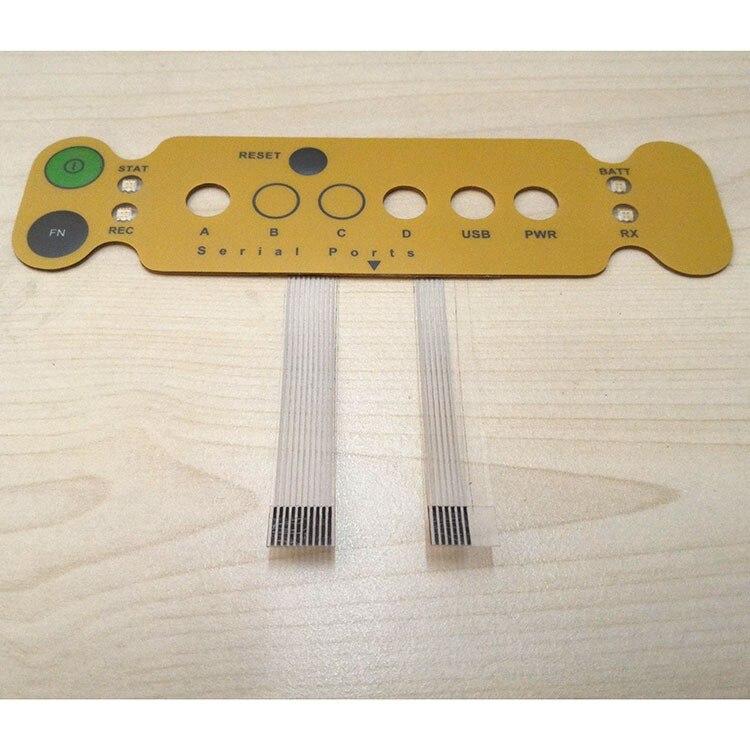 Substituição para Topcon Hiper Minter, Painel Frontal com um Circuito de Membrana com dois flat cable