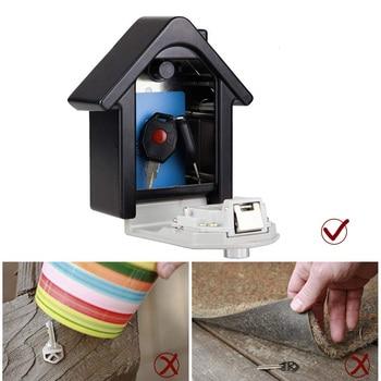 Storage Box  Key Box House Type Password Box Password Key Wall mounted Lock Box Storage Boxes & Bins Home & Garden -