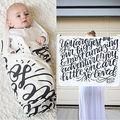 Newborn Baby Boy Girl Infant Swaddle Swaddling Cotton Blanket Sleeping Bag 0-24M Baby Kids Bedding Blanket Swaddling