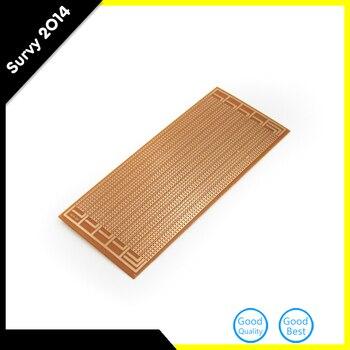 1pcs DIY Prototype PCB Universal Matrix Circuit Board Breadboard 8.5x20cm 85x20mm syb 120 universal 700 point circuit board breadboard deep blue