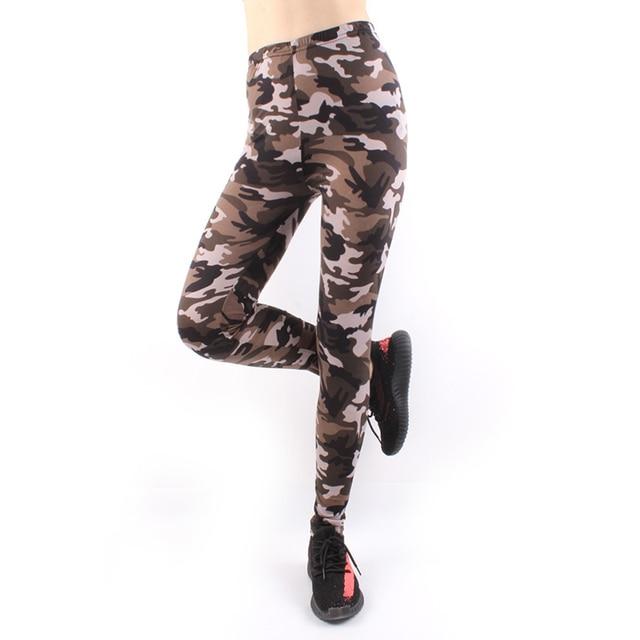 AECU Print Leggings Stretch Nine Women Multicolor Spring Autumn Sporting Sexy Athleisure Leggings High Waist Pants Streetwear 1