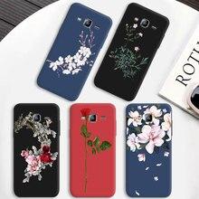 Роскошный цветной чехол для телефона samsung Galaxy J1 J2 Core Prime J3 матовый для iPhone 5 5S SE 6 6S 7 8 Plus X
