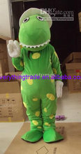New arrival 2014 Adult dorothy dinosaur mascot suit cartoon costume fancy dress costumes adult costume kids party costumes