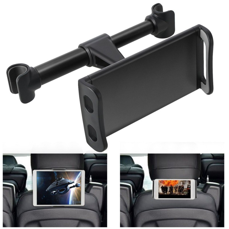 Universal 4-11'' Tablet Car Holder For iPad 2 3 4 Mini Air 1 2 3 4 Pro Back Seat