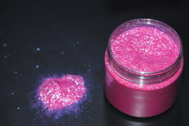 Beautiful Pink Diamond Powder for Eyeshadow and Nail Pigment