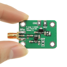 New Arrival AD8310 0.1-440MHz High-speed H-frequency RF Logarithmic Detector Power Meter For Amplifier