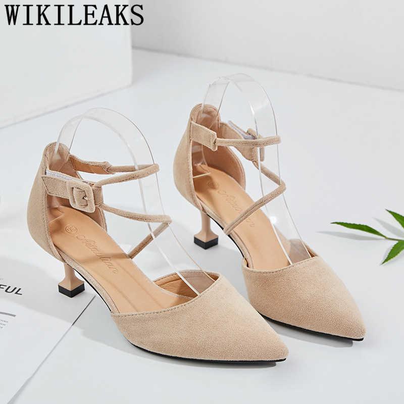Scarpe a punta mary jane scarpe da donna tacco alto scarpe da sposa delle donne delle pompe scarpe fetish tacchi alti zapatos de mujer de moda 2019
