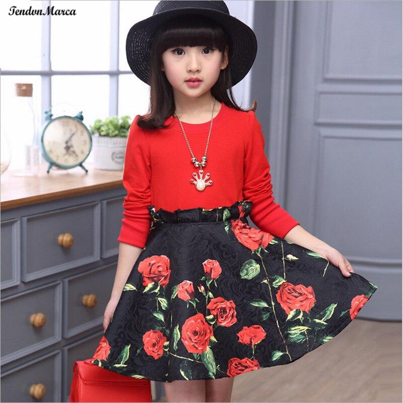 ce1a02bbc6e5 Aliexpress.com   Buy Girls Dresses Summer 2018 Children Dress for Girls 11  years old Long Sleeve Kids Clothes Girls Flower Girl Dress Party Dresses  from ...