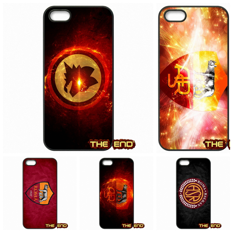 AS Roma logo Football Fans Clubhouse Phone Case Cover For Huawei Ascend P6 P7 P8 P9 Lite Mate 8 Honor 3C 4C 5C 6 7 4X 5X G8 Plus