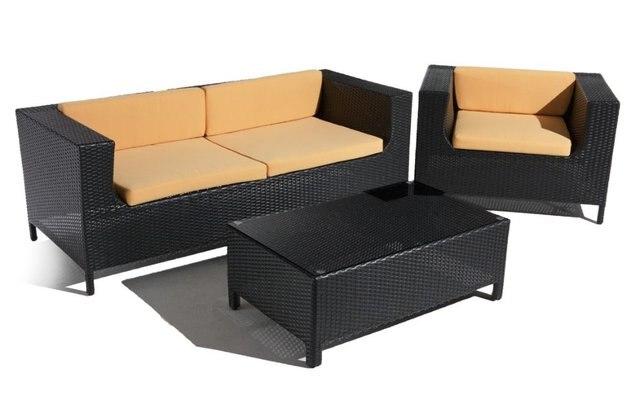 € 450.85 |Sigma ensemble de canapé d\'angle en rotin extérieur de haute  qualité dans Jardin Canapés de Meubles sur AliExpress.com | Alibaba Group