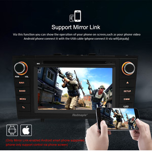 """Image 5 - 7"""" Android 10.0 Car Stereo Radio For Toyota T27 Avensis 2009 2014 2 Din DVD GPS Navigation Wifi FM DAB+Headunit Bluetooth 4G RAM"""