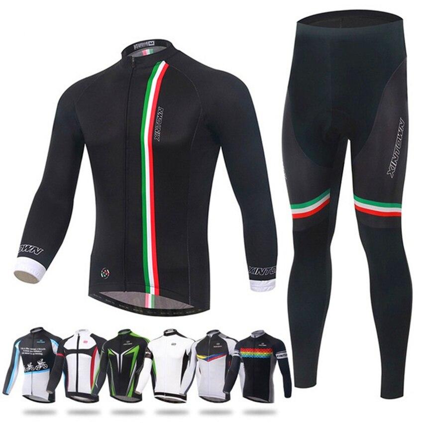 Vêtements de sport pour hommes vêtements de cyclisme cyclisme Ropa Ciclismo Hombre Invierno Conjunto vtt vélo Jersey pour femmes