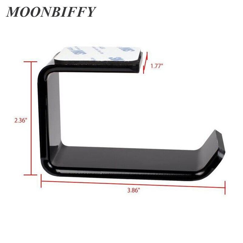 Image 3 - MOONBIFFY Durable Headphone Headset Holder Hanger Earphone Wall/Desk Display Stand Bracket Hanger Headphone-in Earphone Accessories from Consumer Electronics