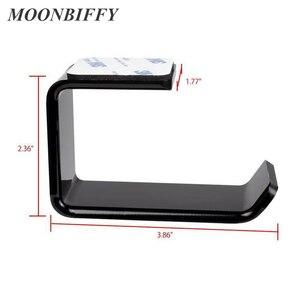 Image 3 - Прочный держатель для наушников и гарнитуры MOONBIFFY, Настенная/настольная подставка для наушников, кронштейн для наушников