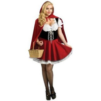 High Quality Halloween Costumes for Women Sexy Cosplay Little Red Riding Hood Fantasy Game Uniforms Fancy Dress Outfit W428856