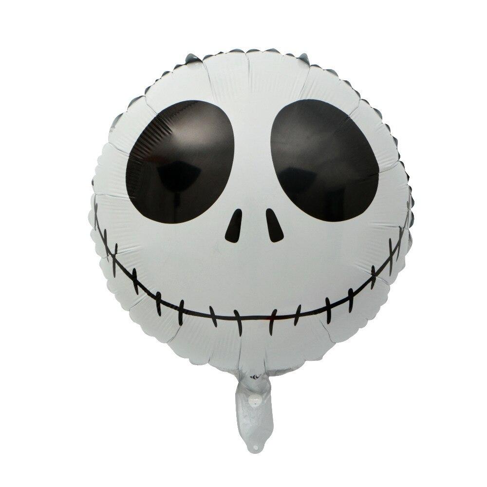 10pcs Jack Skellington Balloon 18inch Orbz Nightmare Before ...