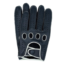 High Quality Lambskin Leisure Mens Genuine Leather Gloves Wrist Breathable Solid