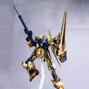 Image 4 - DABAN Model 1/144 HGUC Gold Plated Delta DELTA GUNDAM Out of Print Rare Spot Deformable Action Figure Kids Assembled Toy Gifts