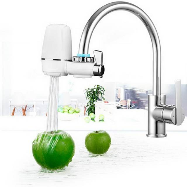 Enjoyable Us 14 35 41 Off Home Water Filter Tap Washable Ceramic Mount Water Purifier Faucets Filters System Bathroom Kitchen Product In Water Filters From Home Interior And Landscaping Ponolsignezvosmurscom