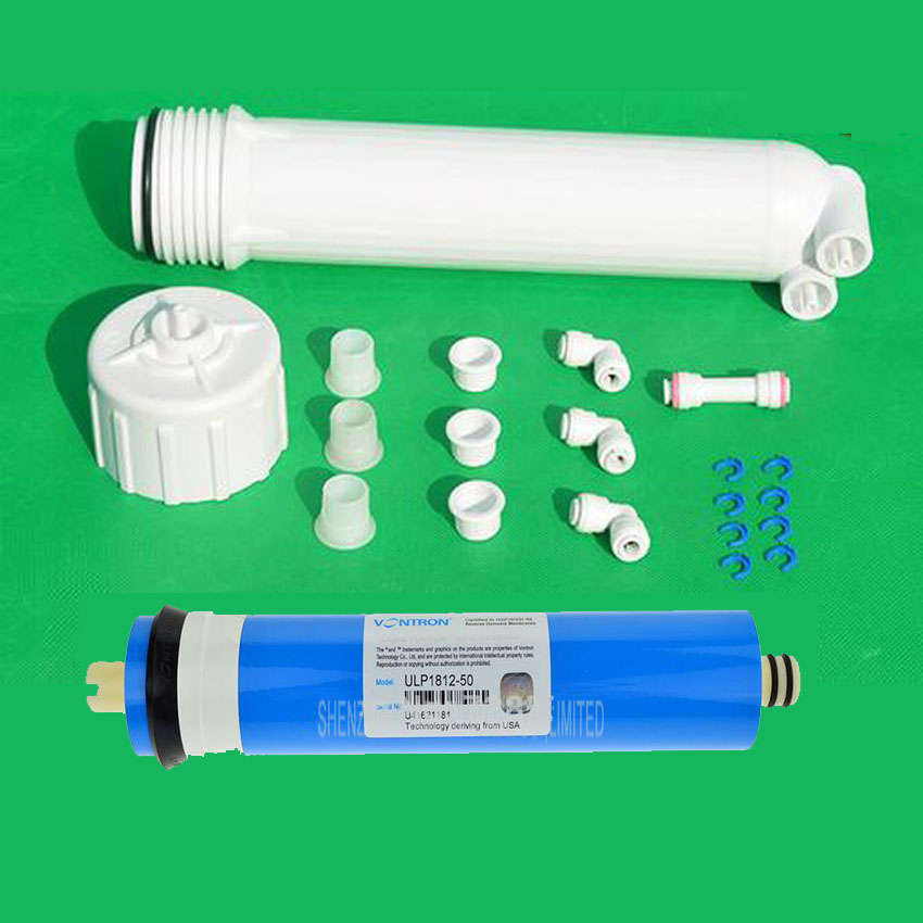 1pc Water Filter 1812 Ro Membrane Housing 50gpd Vontron
